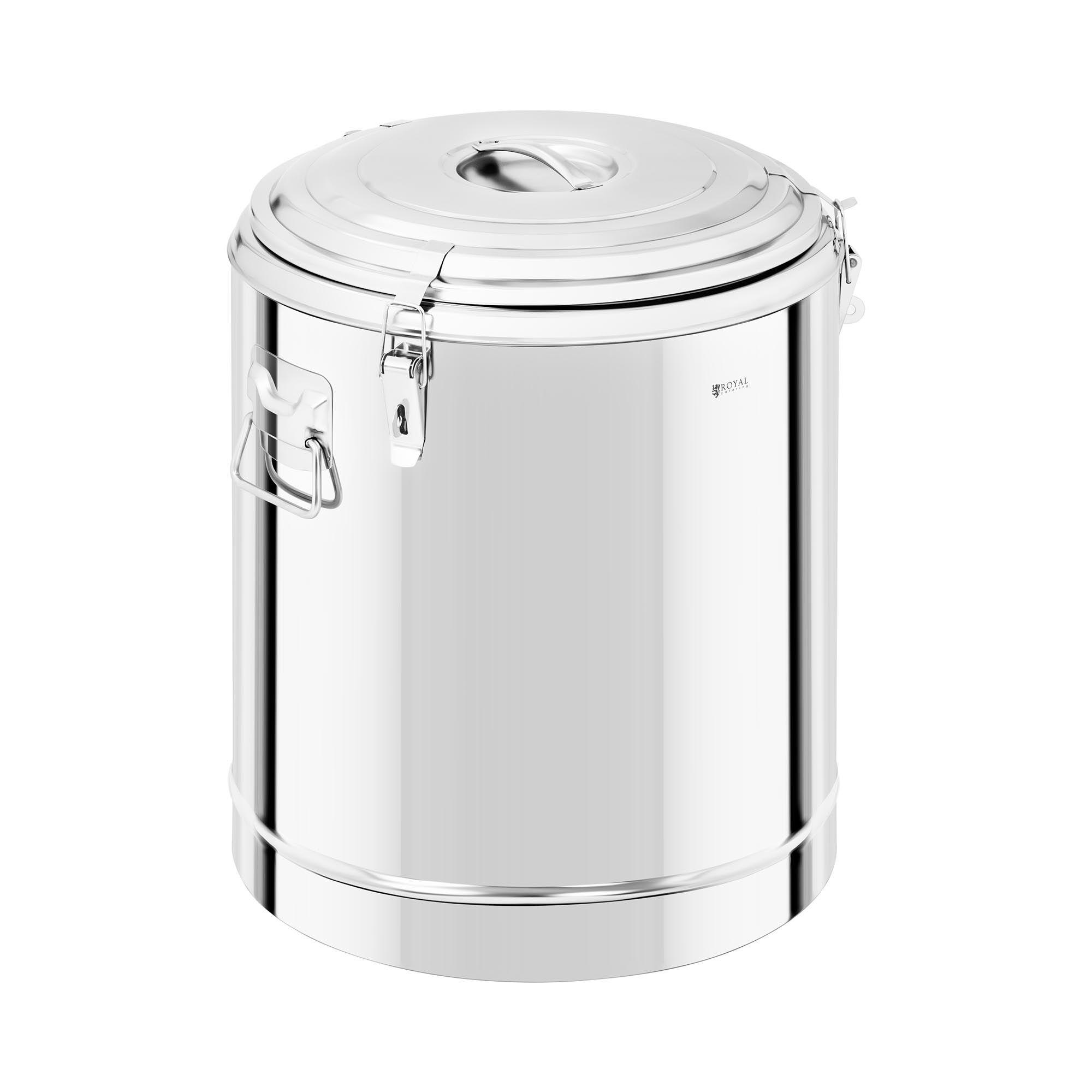 Royal Catering Termobeholder i rustfritt stål - 60 L