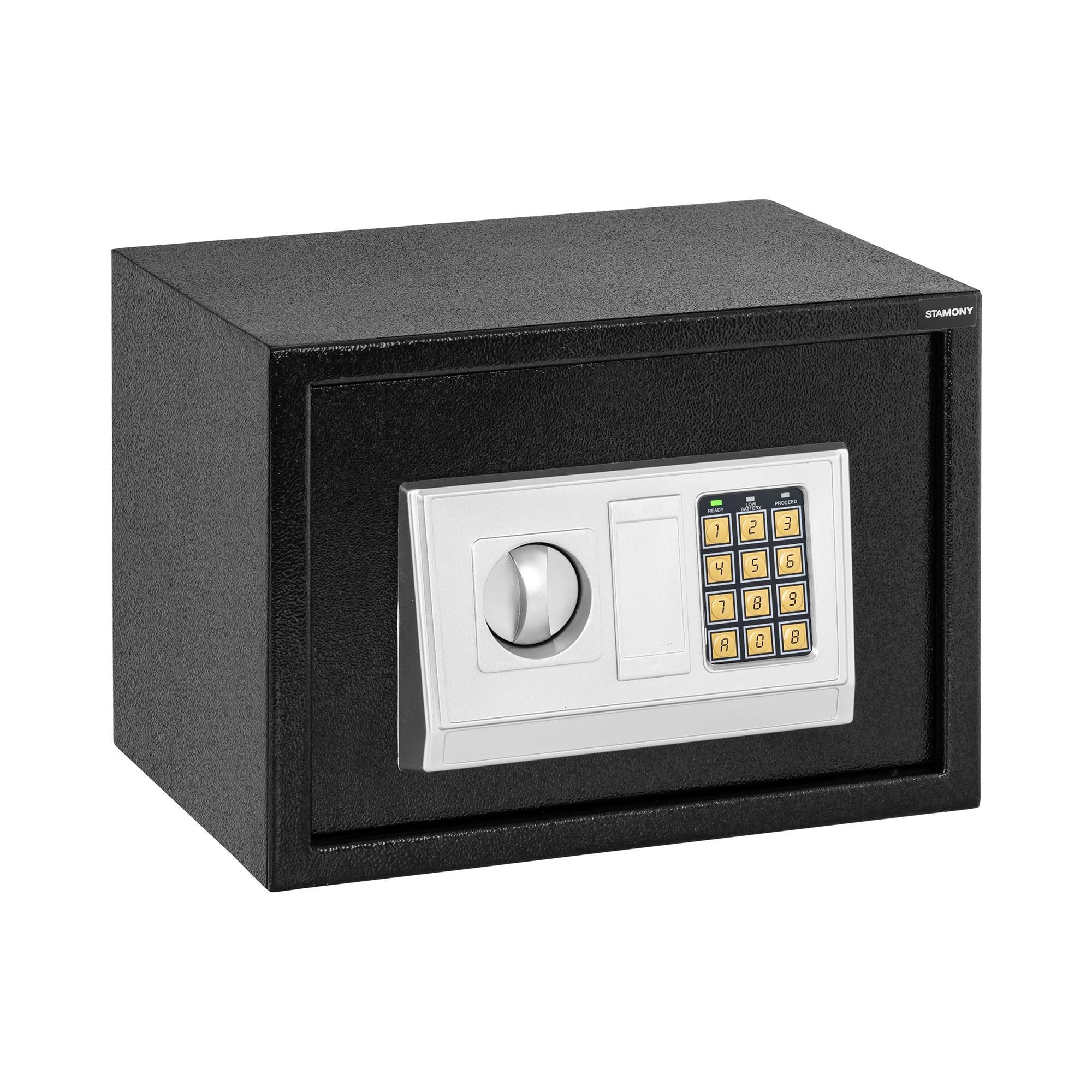 Stamony Elektronisk safe - 35 x 25 x 25 cm 10240025