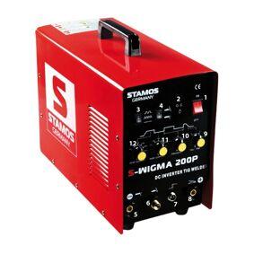 Stamos Basic TIG Sveiseapparat - 200 A- 230 V - Puls 10020009