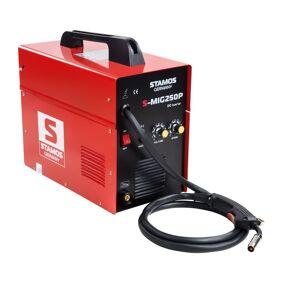 Stamos Basic MIG/MAG Sveiseapparat - 250 A - 230 V - bærbar 10020022