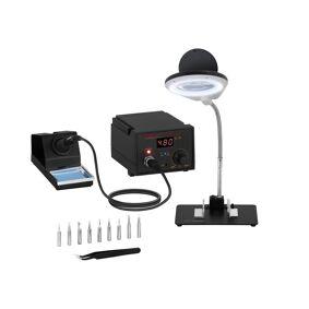 Stamos Soldering Digital loddestasjon - 65 Watt - LED 10021005