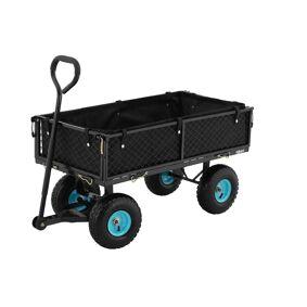 hillvert Sammenleggbar hagevogn - 300 kg 10090176