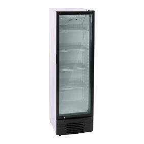 Royal Catering Flaskekjøleskap - 320 L - LED - svart ramme 10010908