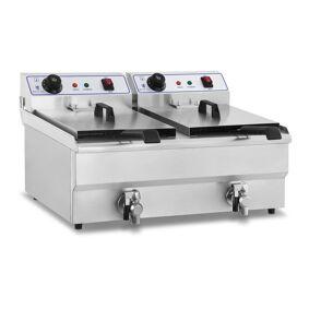 Royal Catering Frityrkoker - 2 x 16 liter 10010029