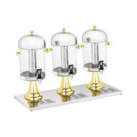Royal Catering Saftdispenser - 3 x 8 L - kjøleinnsats 10011378