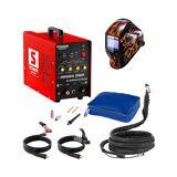 Stamos Basic TIG-sveiseapparat - Sett - 250 A - 230 V - Puls + Sveisemask – Firestarter 500 - ADVANCED SERIES 18000131