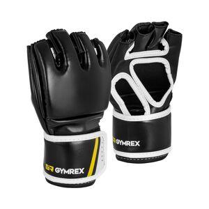 Gymrex MMA-hansker - størrelse L/XL - sort/rød - uten tomler 10230138