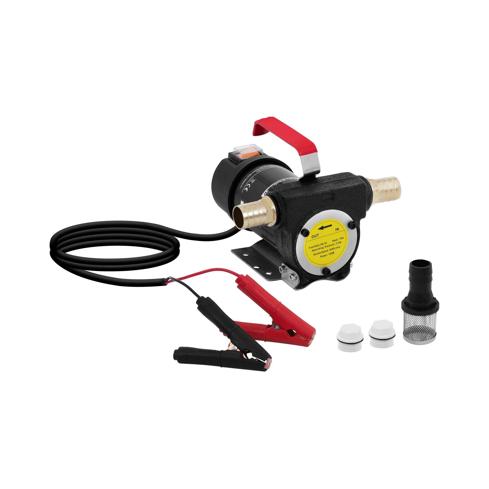 MSW Elektrisk oljeskiftpumpe - 12 V - 40 L/min 10060821