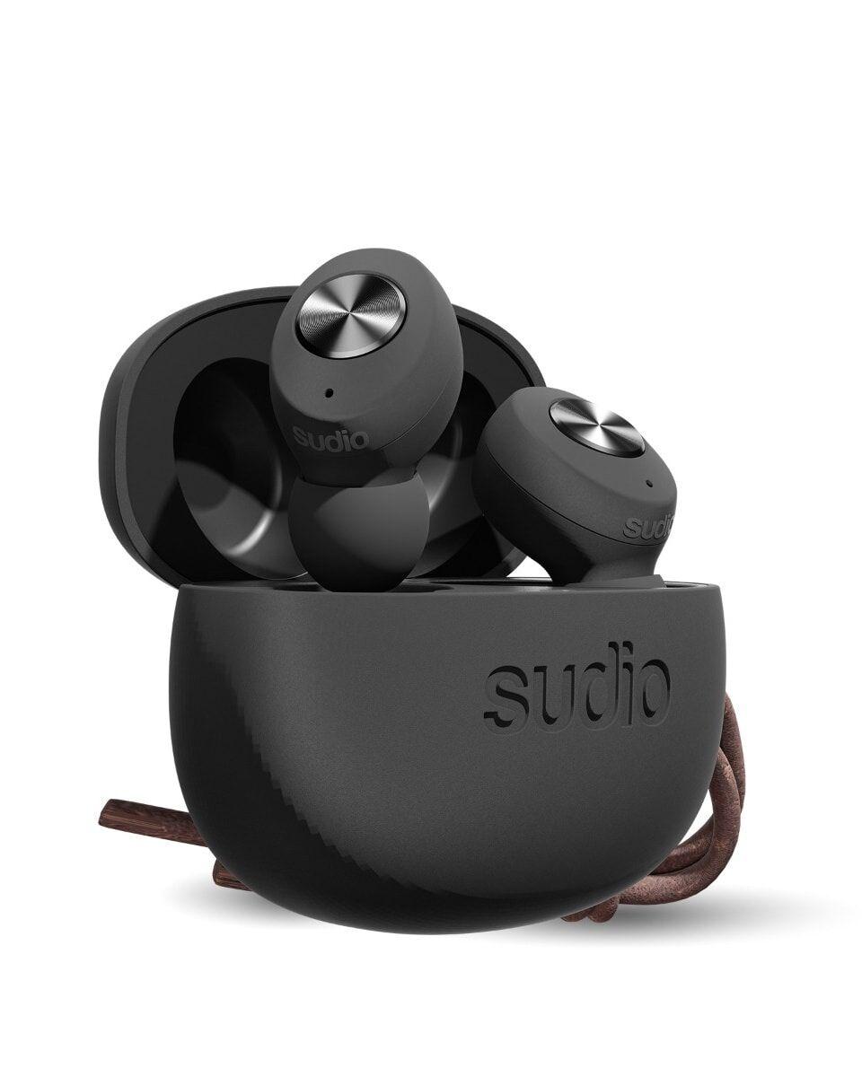 SUDIO Øreplugger TOLV True Wireless In-Ear Svart Mic Black