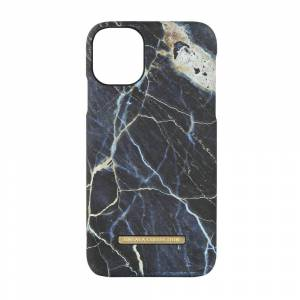 ONSALA COLLECTION Mobildeksel Soft Black Galaxy Marble iPhone 11