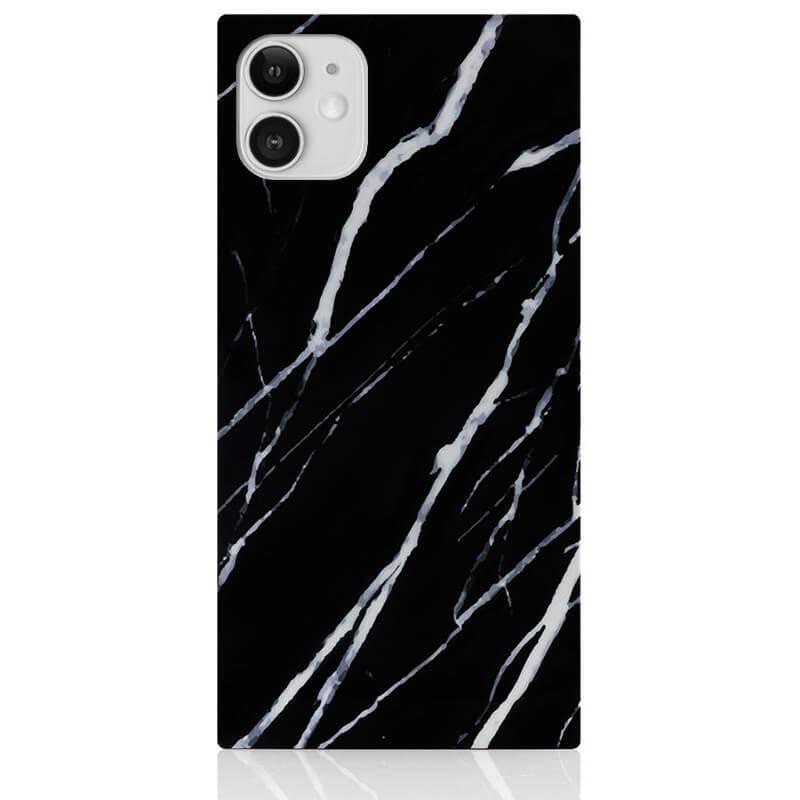 IDECOZ Mobildeksel Svart Marble iPhone 11