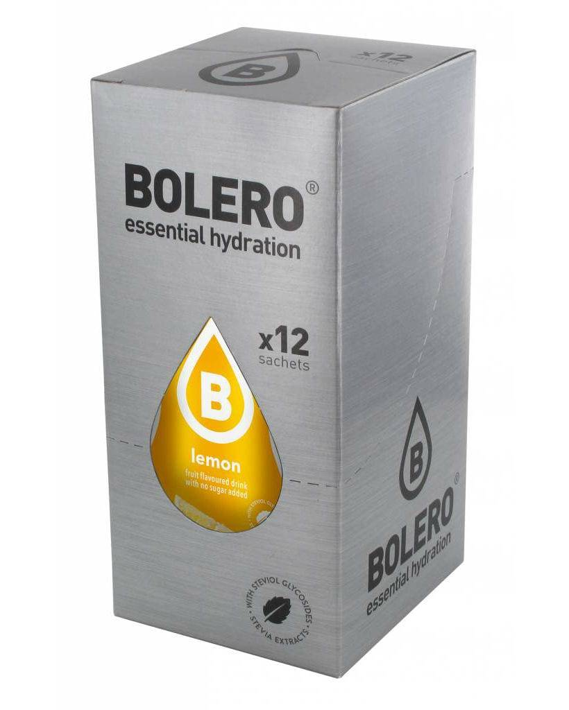 Bolero Classic Advanced Hydration Lemon 12x9g