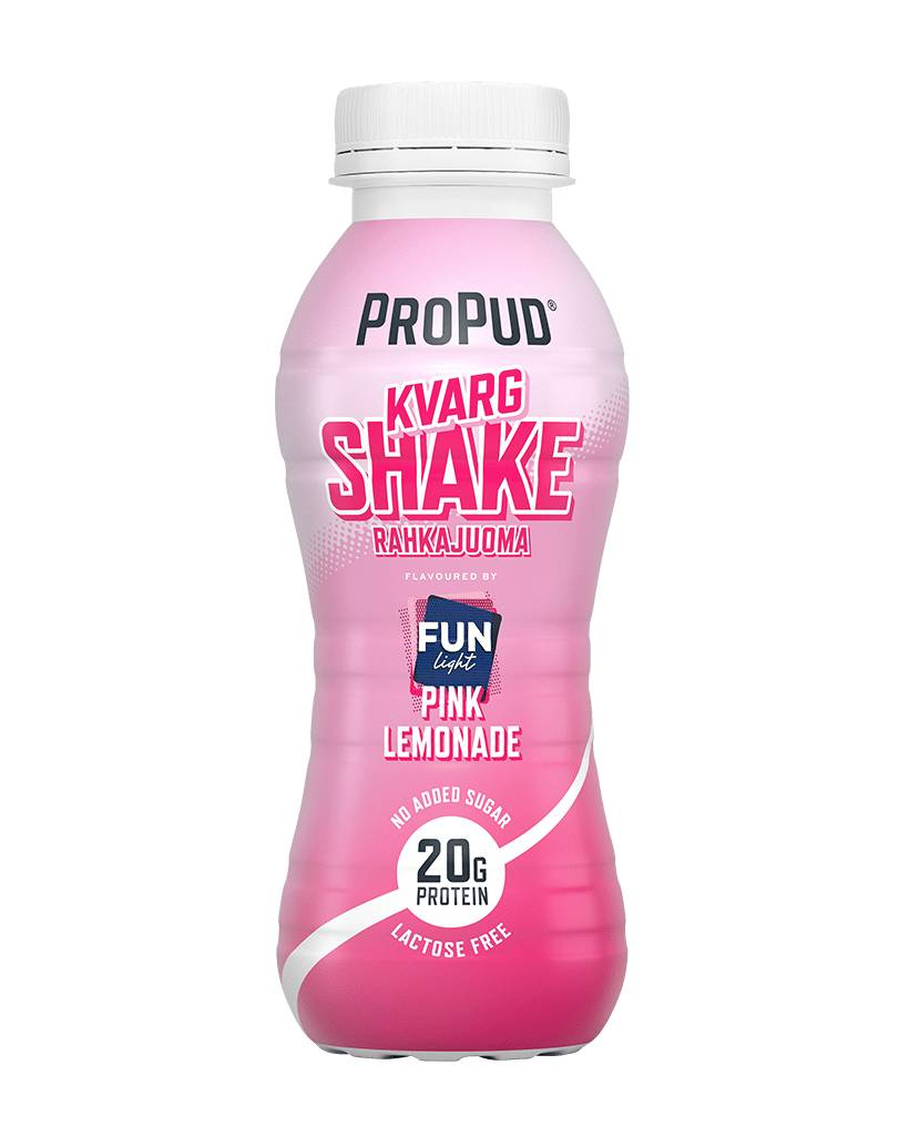 NJIE ProPud Kvargshake - Pink Lemonade 330ml