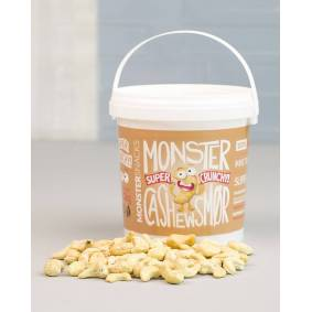 Monster Supersnacks Monster Crunchy Cashewsmør 1kg - DATODEAL