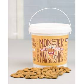 Monster Supersnacks Monster Crunchy Mandelsmør 1kg
