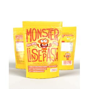Monster Supersnacks Monster Linsepasta 3x250g - TREPAKNING