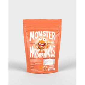Monster Supersnacks Monster Lavkarbo & Sukkerfri Marsipanmiks - GIR 600 GRAM MARSIPAN!