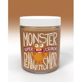 Monster Supersnacks Monster Pure Peanut Butter - Crunchy 1kg