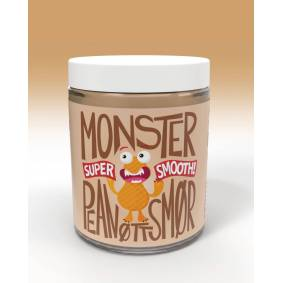 Monster Supersnacks Monster Pure Peanut Butter - Smooth 1kg