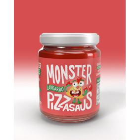 Monster Supersnacks Monster - Lavkarbo Pizzasaus - Oregano & Ost 120g