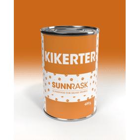 SunnRask Hermetiserte Kikerter 400g