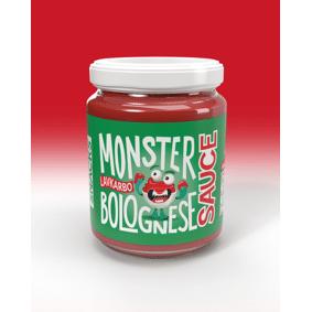 Monster Supersnacks Monster Lavkalori Bolognese Saus 100g