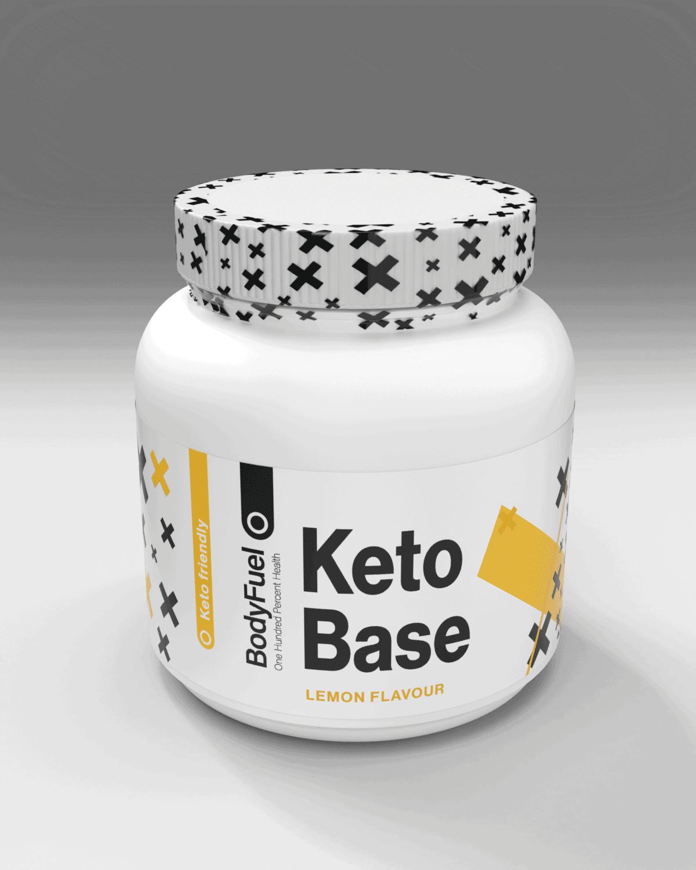BodyFuel KETO BHB Exogenous Ketone Base - Lemon - 360g