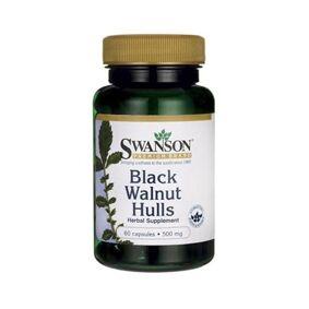 Swanson - Black Walnut Hulls - 500mg - 60 caps