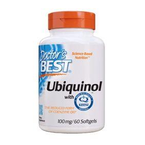 DB Doctor's Best - Ubiquinol (100mg) - 60 soft gels