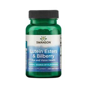 Swanson - Lutein Esters & Bilberry - 120 soft gels