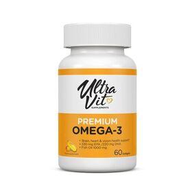 VPLab Nutrition VPLabs ULTRAVIT Premium Omega-3 - 60 Soft gels