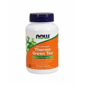 Now Foods Thermo Green Tea - 90 veg caps
