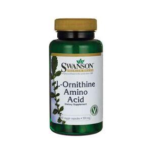 Swanson - L-Ornithine - 500mg - 60 vegcaps
