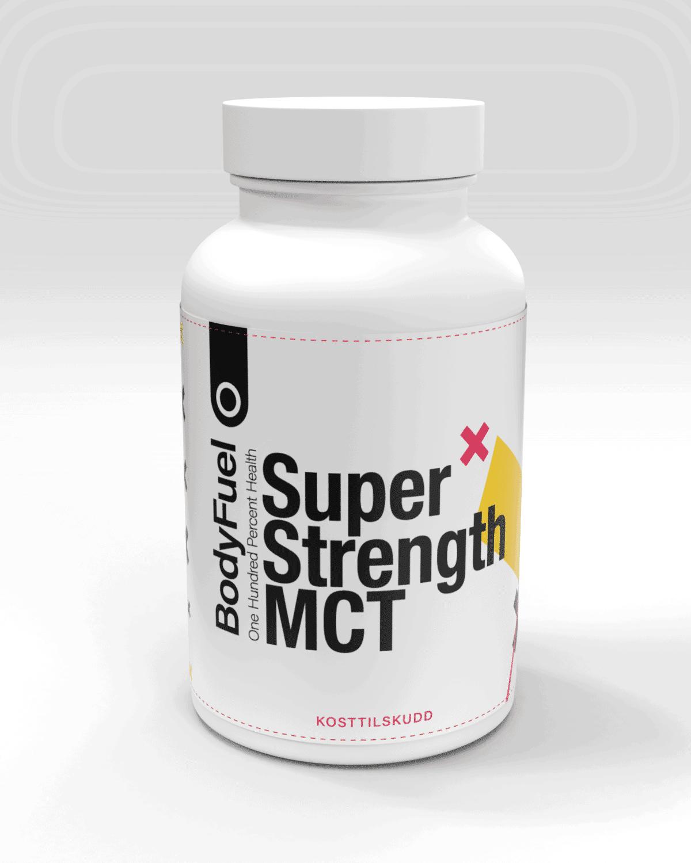 BodyFuel Super-Strength MCT Kapsler - 360 kapsler