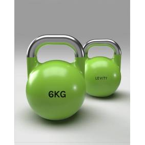 LEVITY Premium Fitness - Competition Kettlebell 6kg