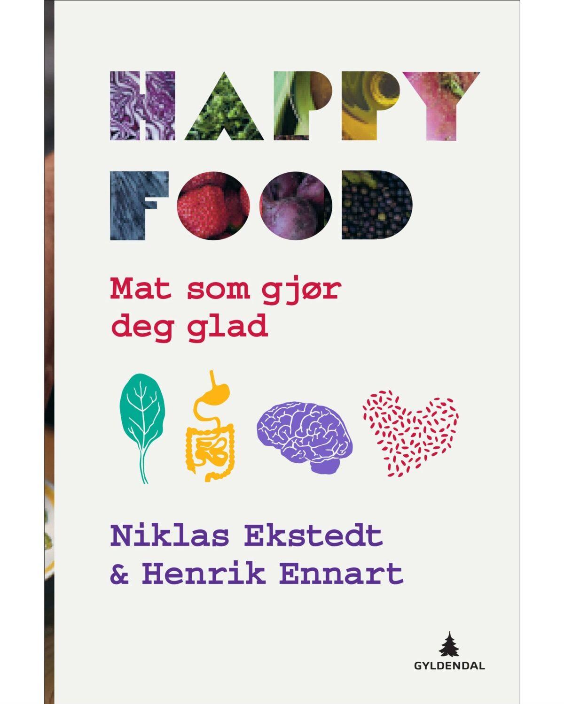 Gyldendal Happy Food - Mat Som Gjør Deg Glad!