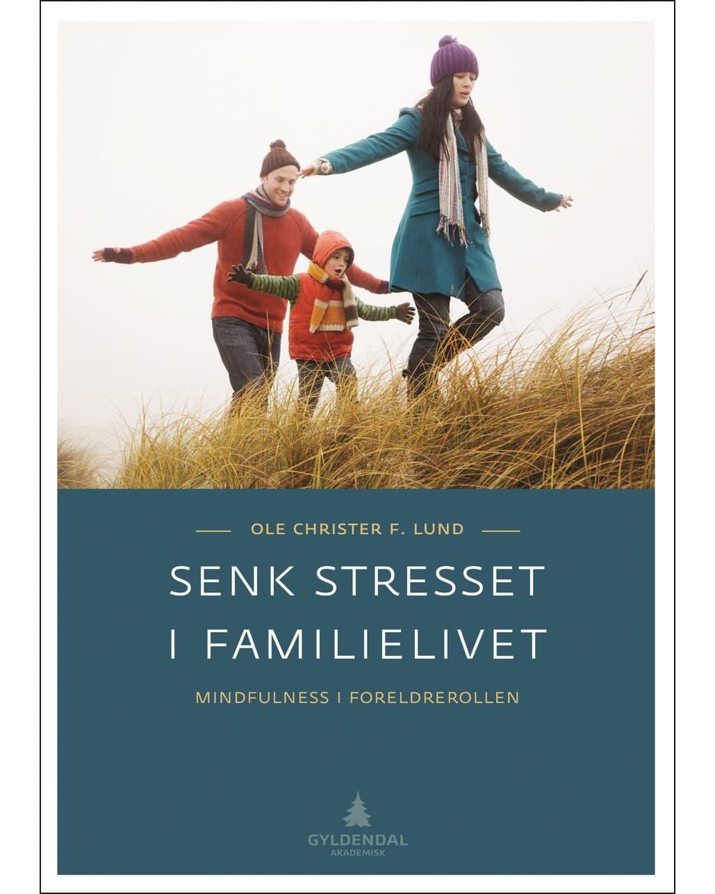 Gyldendal Senk stresset i familielivet - Mindfulness i foreldrerollen