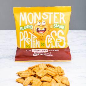 Monster Supersnacks Monster Protein Jalapeno Chips 50g
