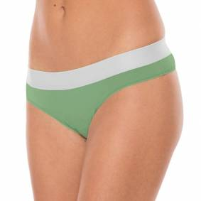 Comfyballs Comfy Minty No Show String Wood (2-pack)