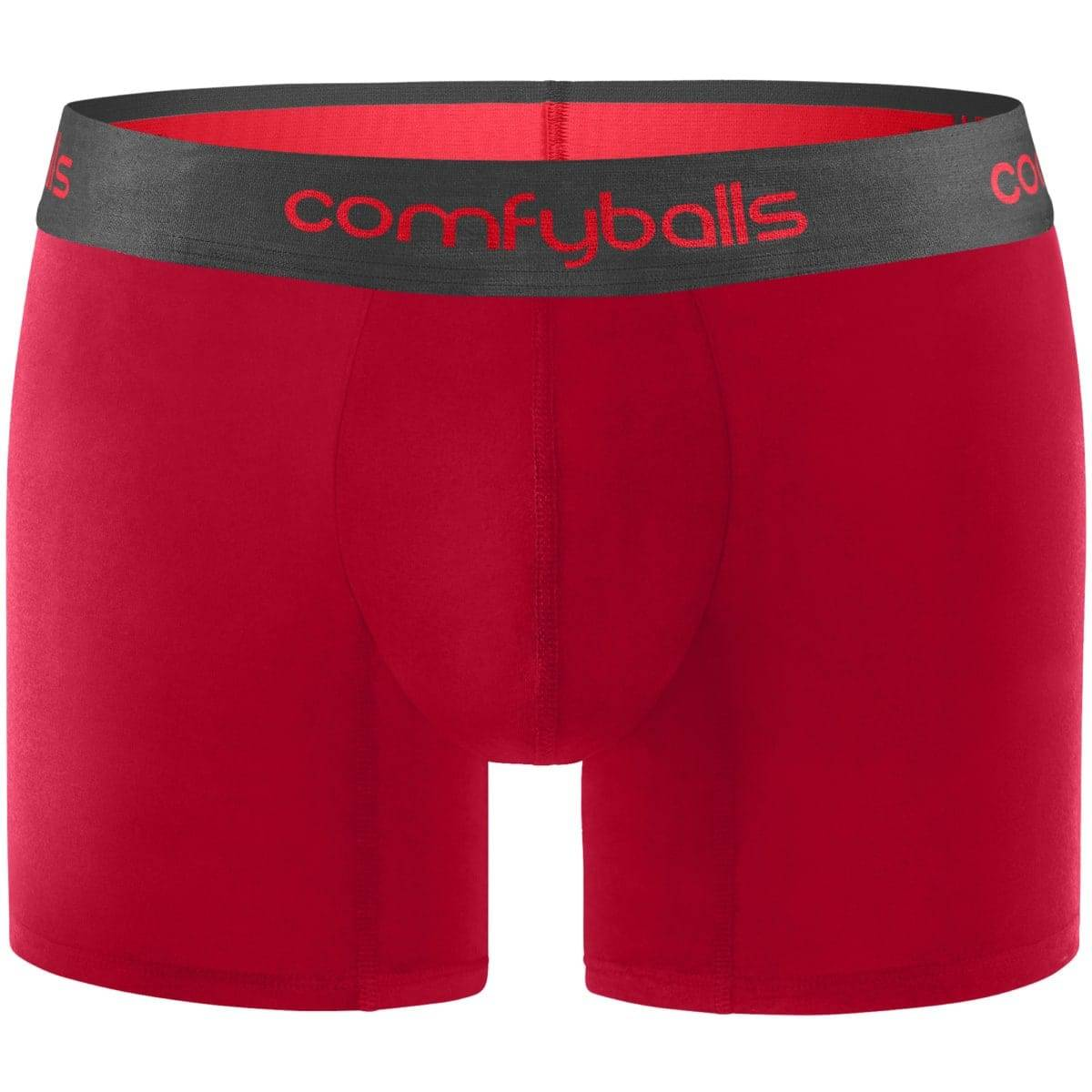 Comfyballs Red Charcoal Cotton