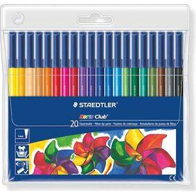 Övriga varumärken Noris Club® 20-pakning tusjer for fargelegging.