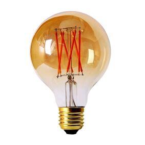 PR Home Elect LED Filament Globe Gold 80mm