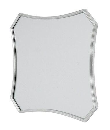 Nordal Spirit speil med jernramme 60x57 cm - Sølv