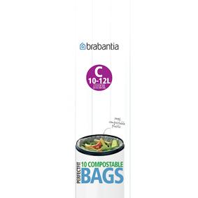 Brabantia Miljøvennlig avfallspose C 10-12 L 10stk