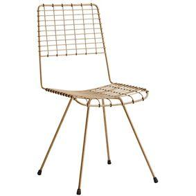 Madam Stoltz Wire ant. copper stol