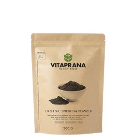 Vitaprana Organic Spirulina Powder, 200 g