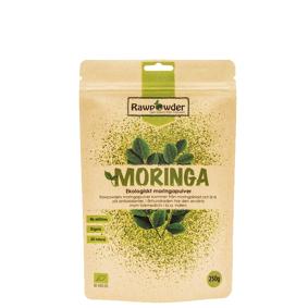 Rawpowder Moringa, Økologisk Moringapulver, 250 g