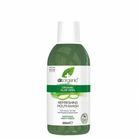 Dr Organic Aloe Vera Mouthwash, 500 ml