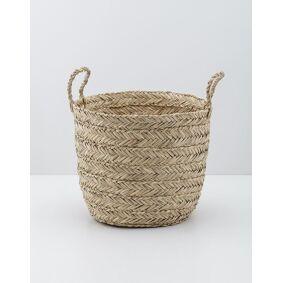Indiska Large seagrass basket   Beige
