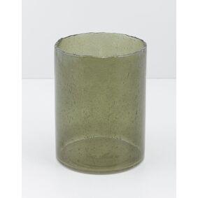 Indiska Coloured glass vase - L
